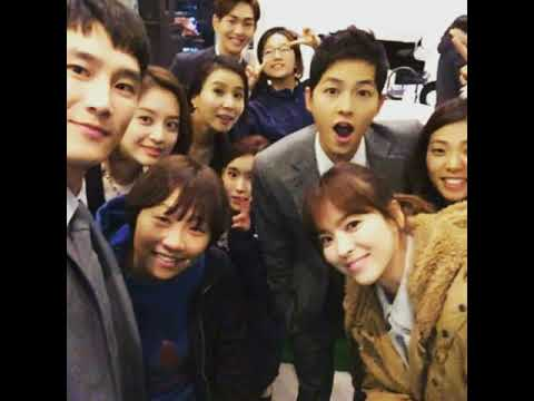 DotS stars & production team from their last shooting day