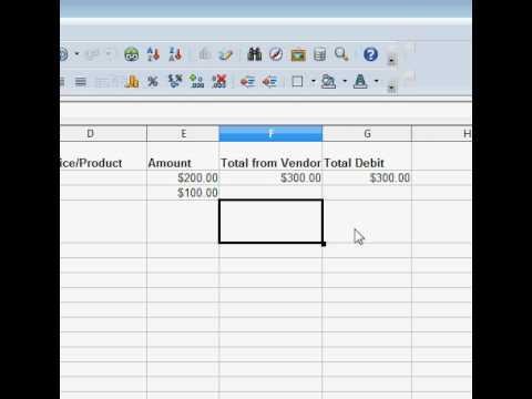 Easy Spreadsheet to Track Income Expenses and Profit - YouTube
