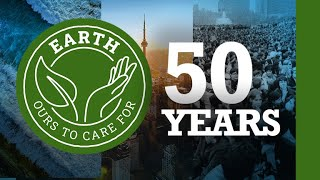 50 years of Earth celebration | Earth ours to care for.