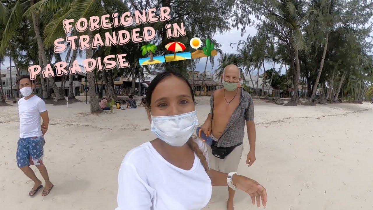 FOREIGNER STRANDED IN PARADISE/ BORACAY ISLAND