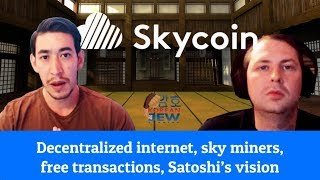 Interview with Synth of Skycoin aka Pied Piper - Decentralized Web, Sky Miners, OG BITCOIN TALK