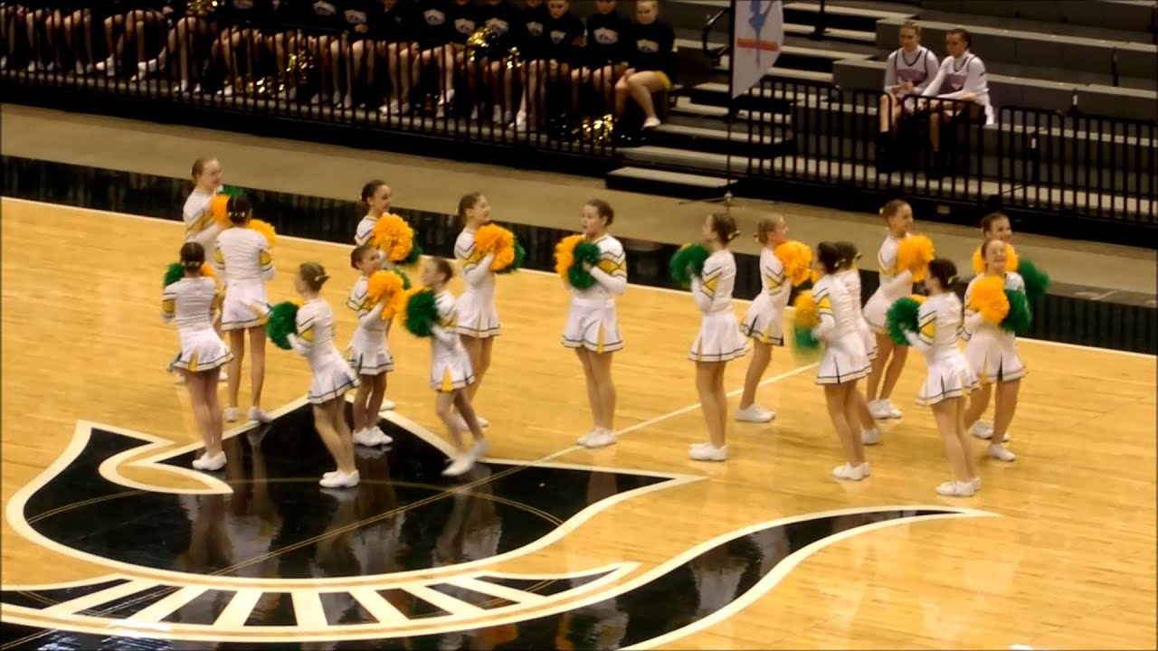 garden city middle school 1st place div1 2014 michigan state pom pon competition youtube - Garden City Middle School