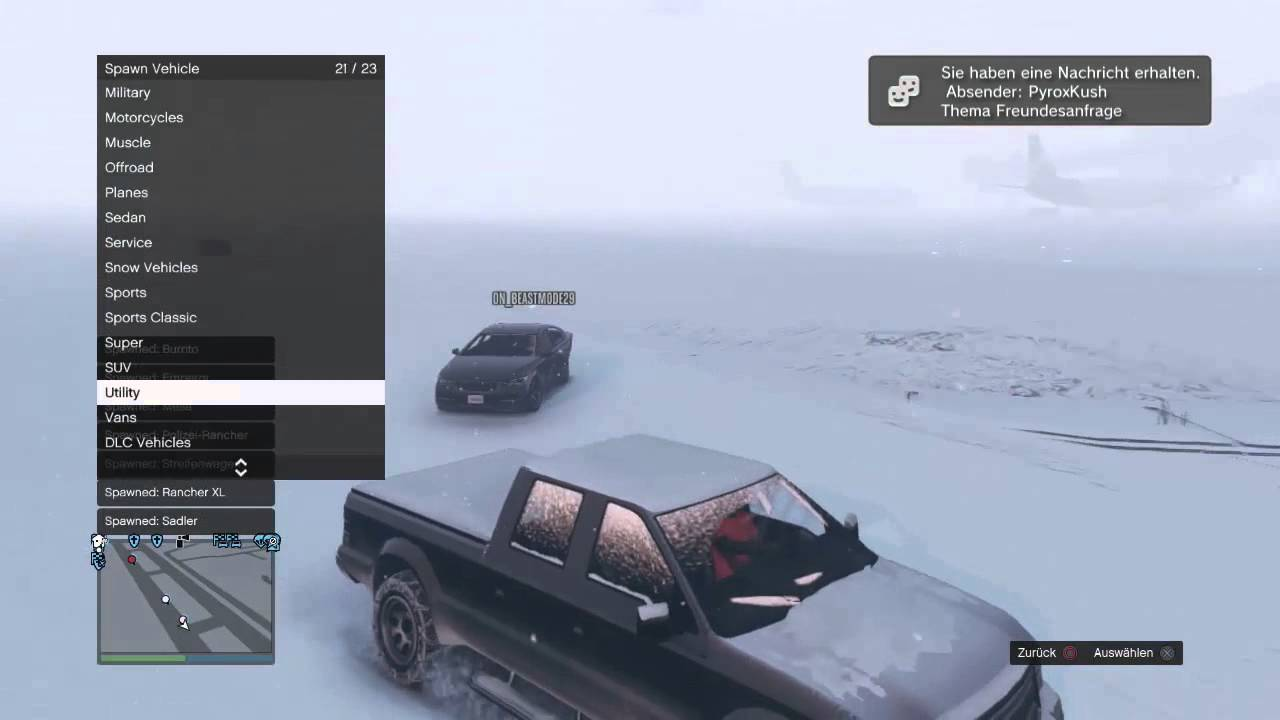 [PS3/GTA 5] Online Mod Menu (Console Trainer) 1 20 / Spawn every Car / Get  Bypass Cars