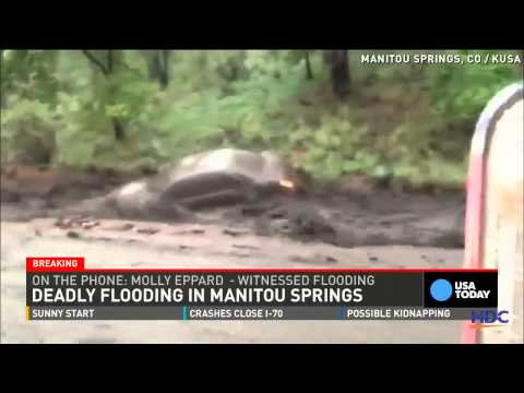 Colorado Floods And Mudslides Kills 1 In Manitou Springs