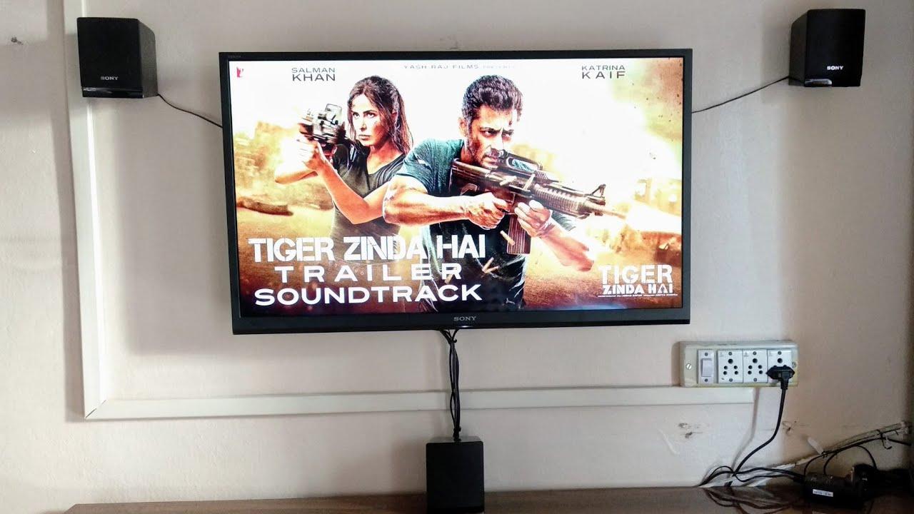 Download #2 Sony DAV TZ145 Sound Test   Tiger Zinda Hai Soundtrack