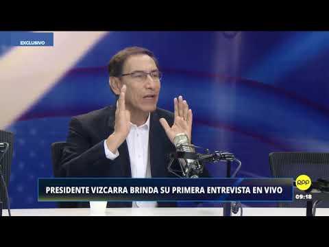 PRESIDENTE VIZCARRA EN ENFOQUE DE LOS SABADOS RPP