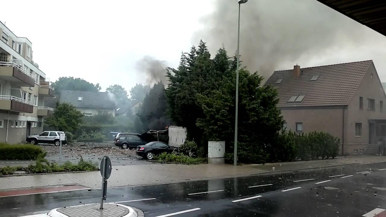 Explosion Bielefeld