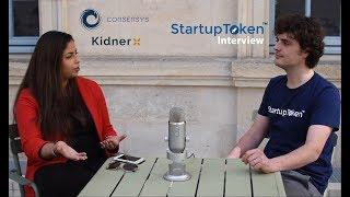 [StartupToken Interview] Sajida Zouarhi, Kidner, Consensys
