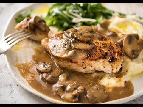 How to cook chicken with mushrooms?