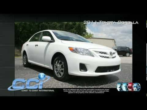 Toyota Corolla 2011 Trim Package