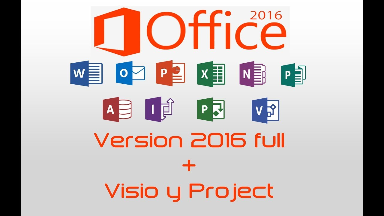 install ms project 2016 with office 365