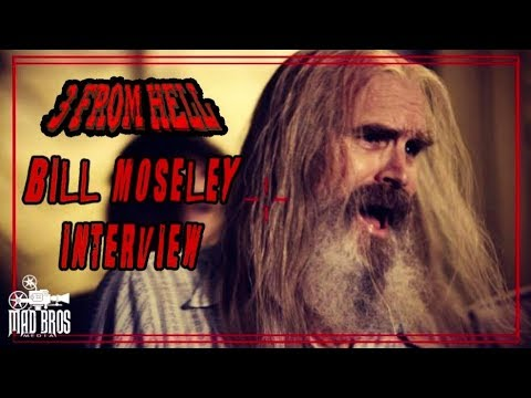 BILL MOSELEY TALKS CHOPTOP, DEVILS REJECTS, FILM CAREER