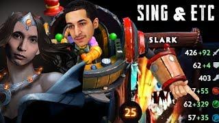 SING & ETC vs 400 AGI SLARK (SingSing Dota 2 Highlights #1441)