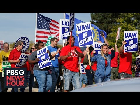 How General Motors Strike Reflects Pivotal Moment For U.S. Auto Industry