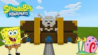 "Minecraft Tutorial: How To Make The BargNmart ""Spongebob Squarepants"""