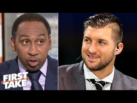 Stephen A. is 'very disgusted' by the Tim Tebow backlash | First Take