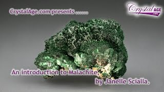 Healing Crystals Guide - Malachite