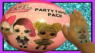 Unboxing And Review Of LOL Surprise Party Favor Pack