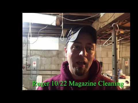 Ruger 10/22 Magazine Cleaning