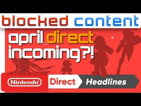 LEAK: April Nintendo DIRECT Coming?! We Break It Down! - Super Smash Bros. Ultimate LEAK SPEAK! thumbnail