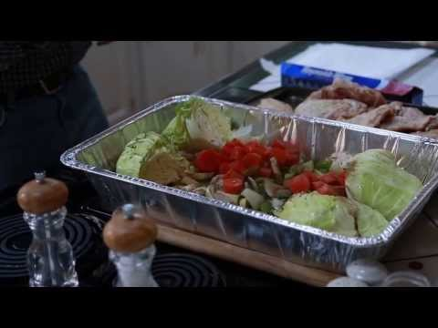 Diabetes Cooking Video - Roasted Chicken and Vegetables