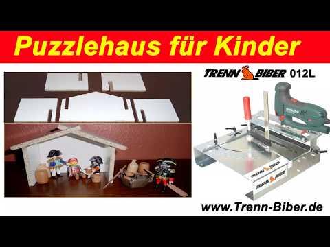Puppenhaus Aus Holz Mit Gehrungssäge Selber Bauen  Für Kinder