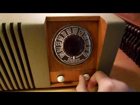 Vintage Olympic Century AM Radio
