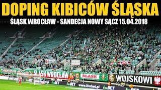 Śląsk Wrocław - Sandecja Nowy Sącz 15.04.2018