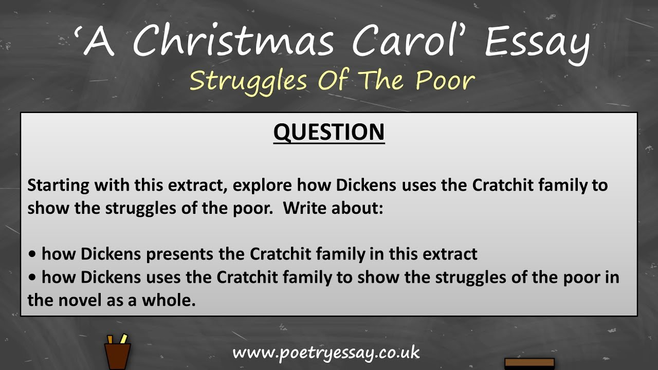 gcse grade a christmas carol essay struggles of the poor aqa