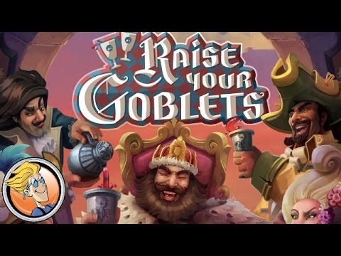 Raise Your Goblets — game overview at SPIEL 2016 by Horrible Games