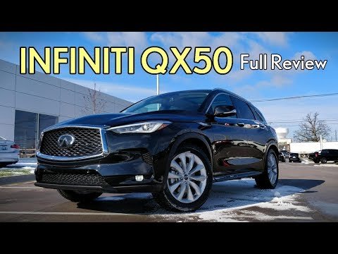 2019 Infiniti QX50: FULL REVIEW | Essential, Luxe & Pure