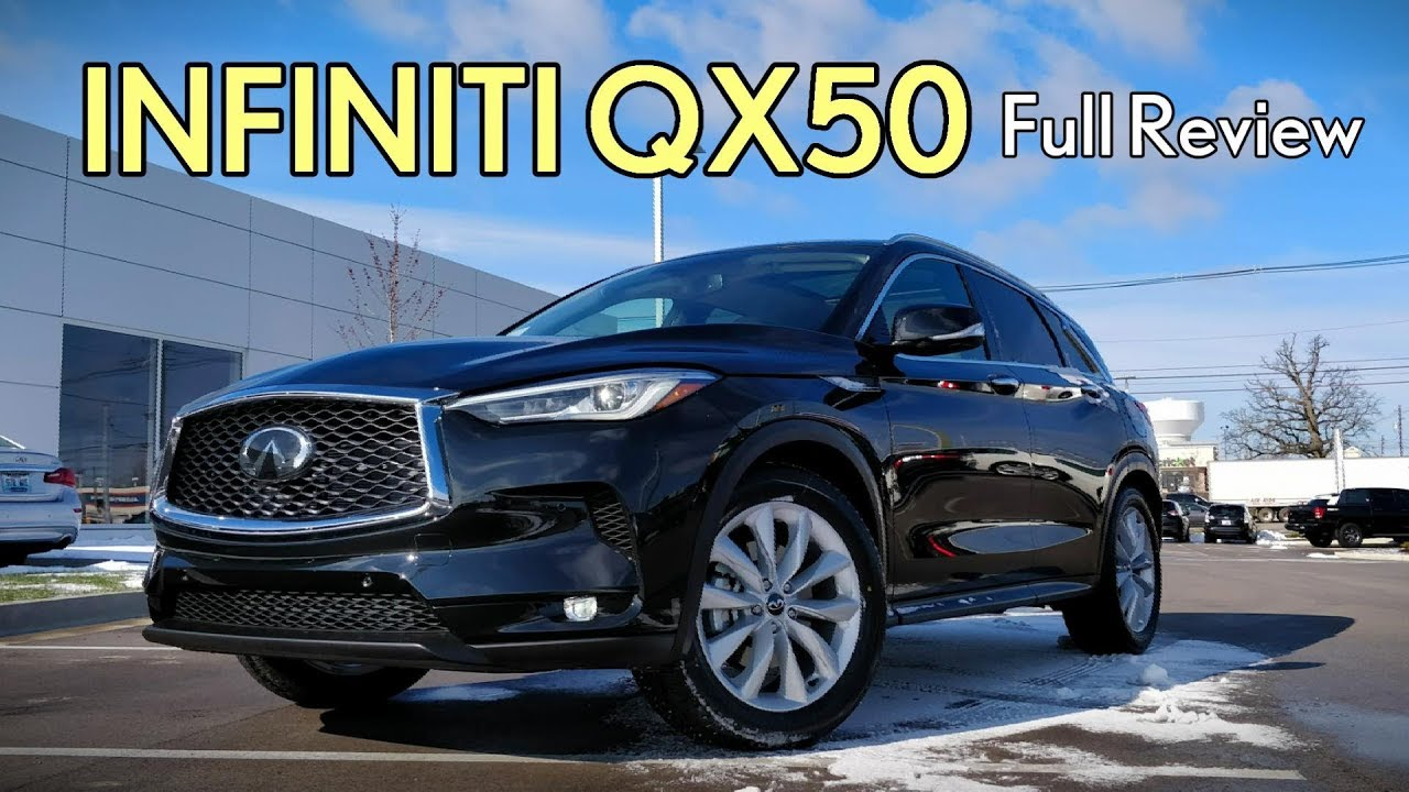 2019 Infiniti Qx50 Full Review Essential Luxe Pure