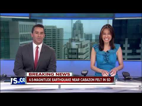 10News viewer in Oceanside shares earthquake experience