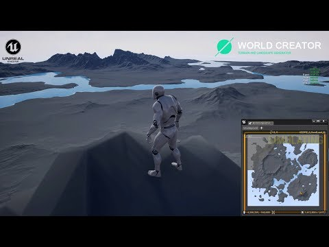 World Creator To UE4 Test