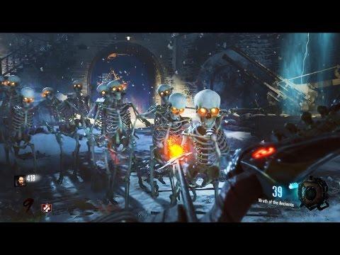 SKELETONS in DER EISENDRACHE EASTER EGG! SECRET SKELETON ZOMBIES! Black Ops 3 Zombies Gameplay