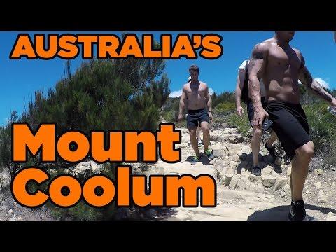 WALKING Australia's Sunshine Coast (Mount Coolum) NO COMMENT