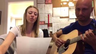 Hallelujah Cover by Leah & Sun