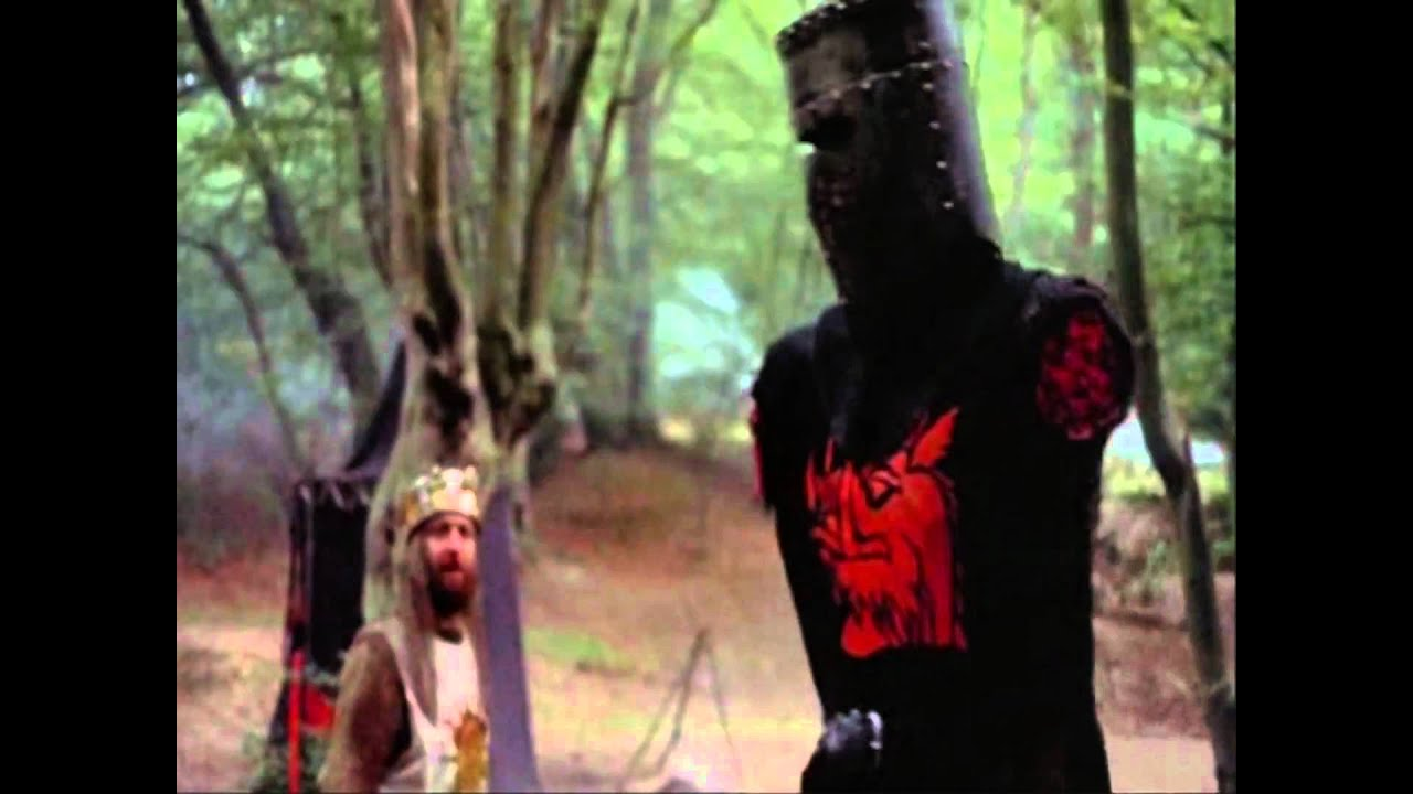 Image result for monty python armless knight pic