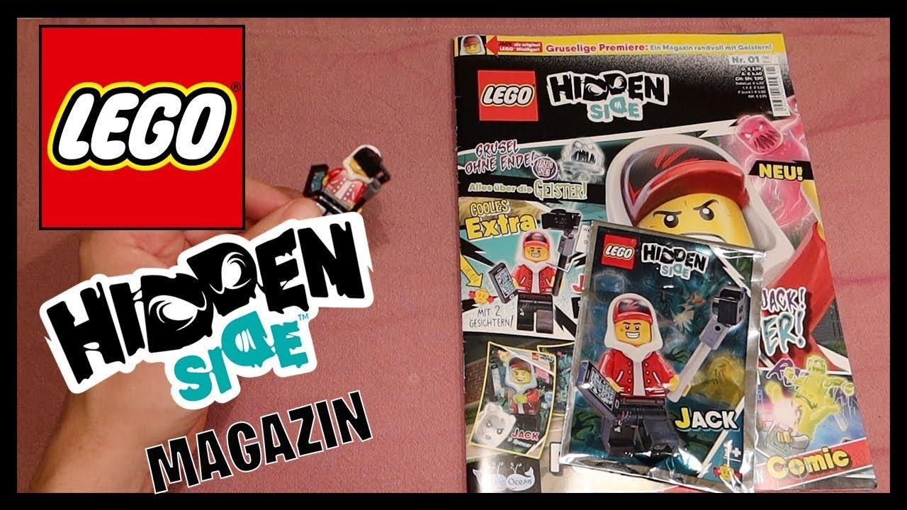 lohnt sich das lego hidden side magazin 1  youtube