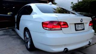 E92 BMW 335i  - Twin-Turbo N54 exhaust note