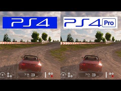 Gran Turismo Sport   PS4 Pro VS PS4   Graphics Comparison   Comparativa