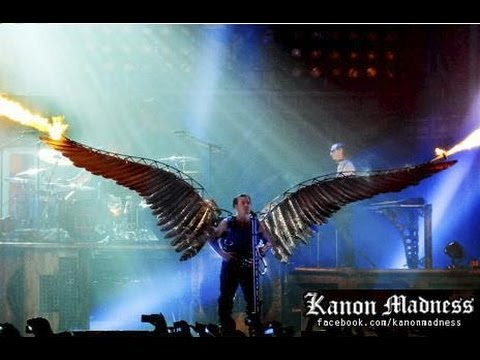 Rammstein - Best Parts of the Concert HD (May 17 2012 - Honda Center) by Kanon Madness
