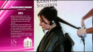 KS Keratin Solution Instructional Video