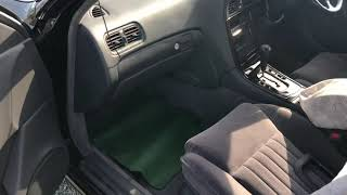 Обзор на Nissan President 67т.км пробег.  97г 4.5 v8 Ниссан президент!!