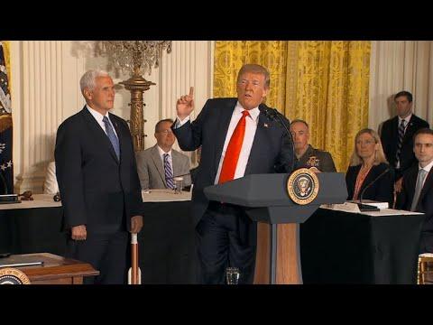 Trump announces plan to establish new