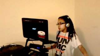 DJ Beauty and the Beatz creating her mixtape Thumbnail