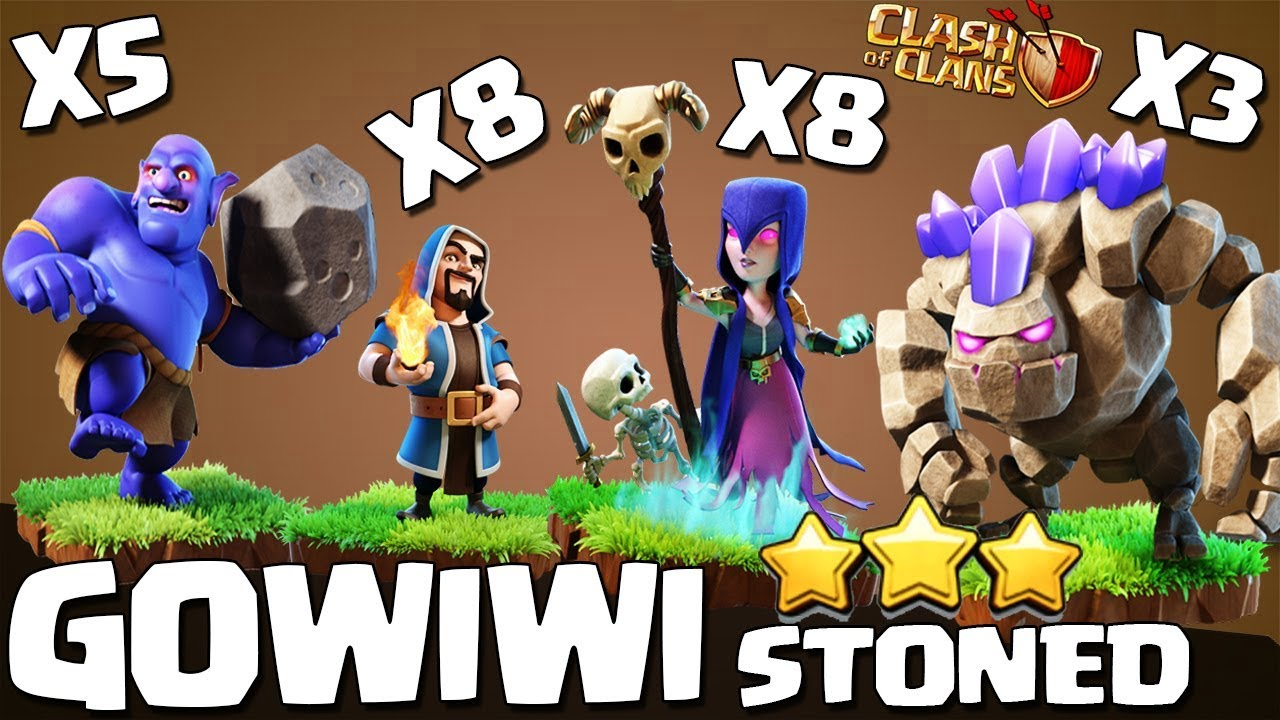 Download Stoned GoWiWi TH9 | The Perfect War | TH9 SUPER STRONG WAR ATTACK STRATEGY Clash of Clans