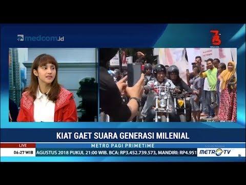 Jokowi-Ma'ruf Disukai Generasi Milenial