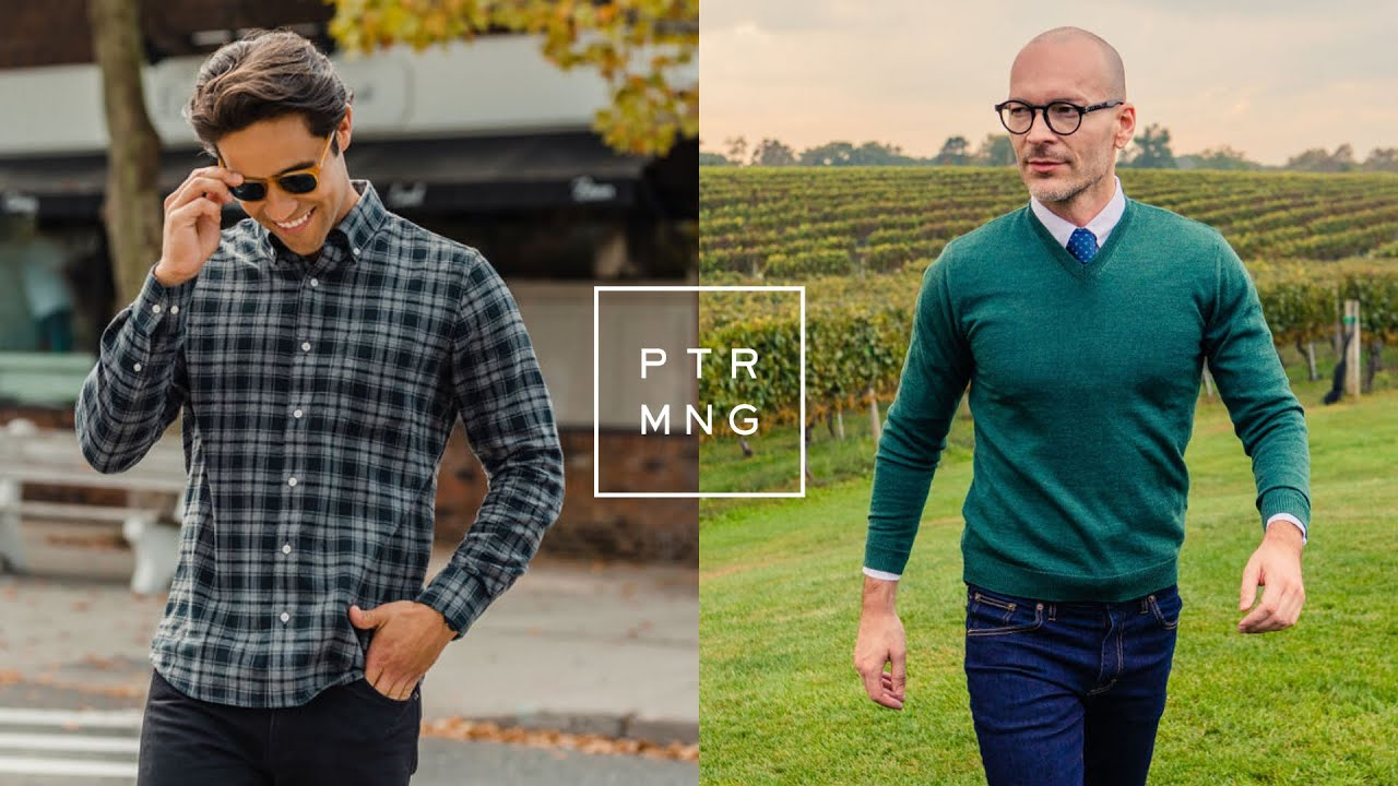 [VIDEO] - Peter Manning NYC Fall Lookbook | Fall Outfit Ideas & Style Essentials for Men 1