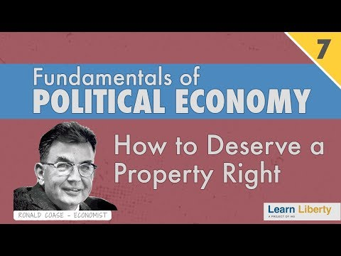 Property Rights: Negative Externalities and Social Cost